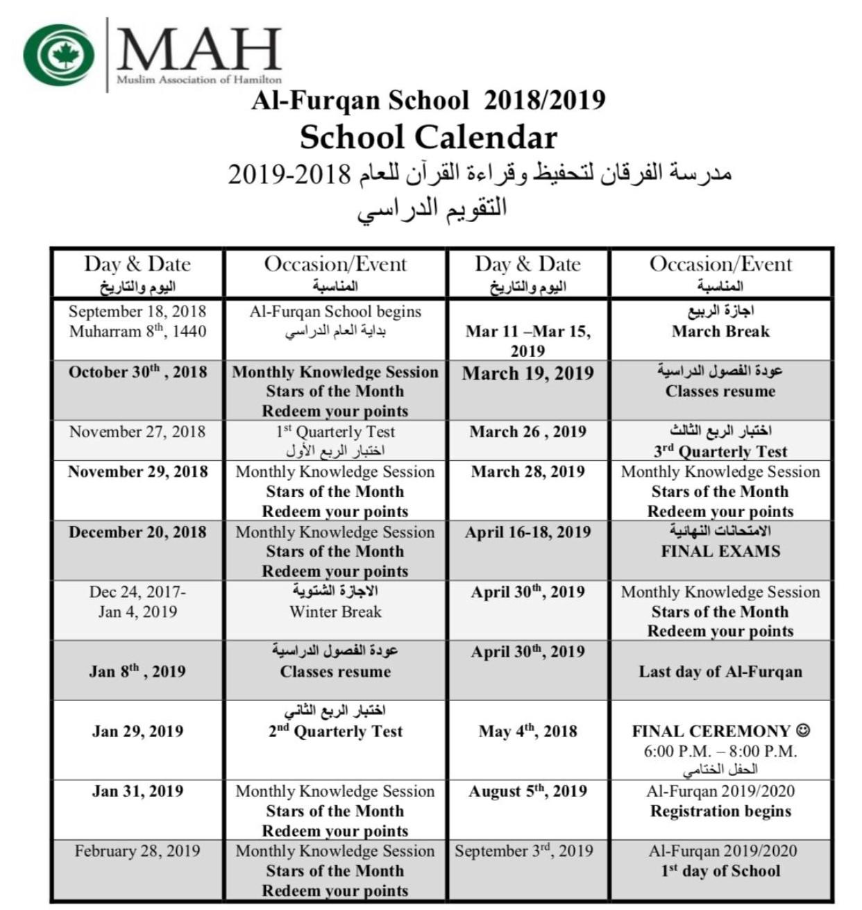 Alfurqan 2018-19