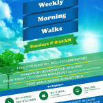 •Weekly Morning Walks for Seniors