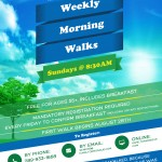 Weekly Morning Walks for Seniors