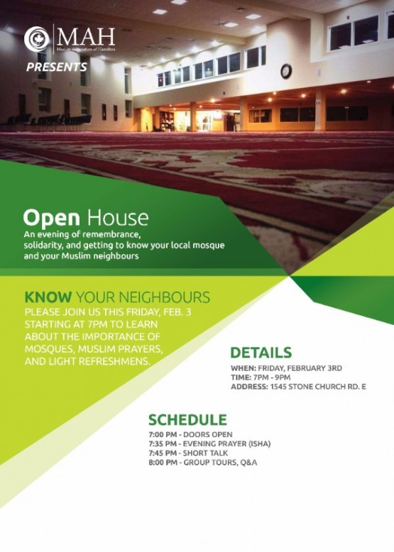 Open House - Feb 3, 2017