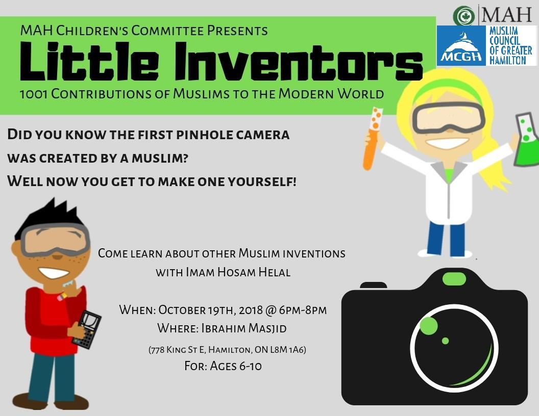 Little Inventors Poster