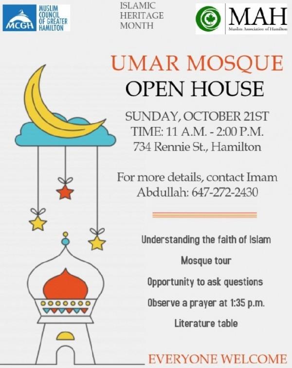 Umar Masjid Open house