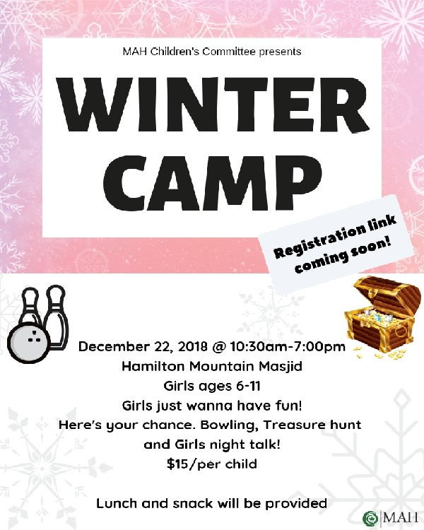 Winter Camp Children 2018
